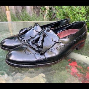 FLORSHEIM 20292 Black Leather Loafers Sz 10 D
